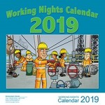 2019 Working Nights Wall Calendar