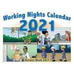 2021 Working Nights Wall Calendar