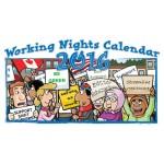 2017 Working Nights Pocket Calendar
