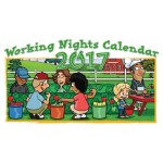 2017 Working Nights Pocket Calendar