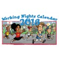 2018 Working Nights Pocket Calendar
