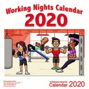 2020 Working Nights Custom Calendar