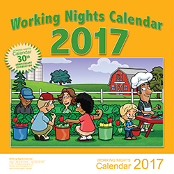 Working nights Calendar