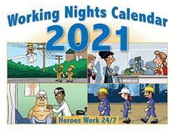 Working nights Calendar